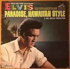 ELVIS PRESLEY Paradise Hawaiian Style  RCA LPM 3643 MONO 1966 LP 1s/1s RARE VG++