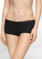 Calvin Klein Pure Seamless Boyshorts Panty QD3546 Black Green Bare M L XL