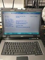 ACER TravelMate 8200 Intel Centrino,  Intel (R) T2500, 1 GB RAM,256 MB graphic c