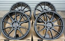 "ALLOY WHEELS 17"" NOVUS 02 GB FIT FOR CADILLAC CTS 03-07 STS 06-11 ATS 13>"