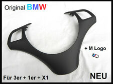 Orig. BMW Lenkradspange SCHWARZ E90 E91 E92 E93 E81 E82 E87 E88 X1 Blende NEU