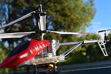 ALLOY  FRAME BR6008 V MAX 3.5 CHANNEL METAL RC HELICOPTER GYRO LED LIGHTS