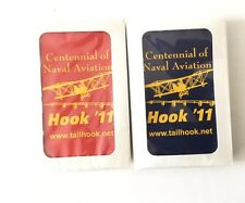 Centennial Of Naval Aviation Hook '11 Unopened Playing Cards S/2