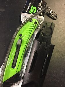 PACIFIC Handy S5R SAFETY UTILITY BOX CUTTER KNIFE With Holster & Lanyard