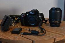 Appareil Photos Reflex Nikon 3200 avec objectif 55-200mm F4-5.6 - Excellent état