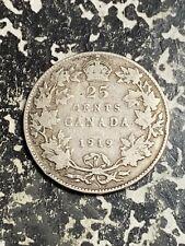 1919 Canada 25 Cents Lot#L8117 Silver!