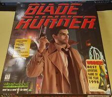 BLADE RUNNER PC WINDOWS 95 1997 SEALED BIG BOX WESTWOOD STUDIOS
