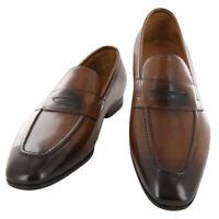 Neuf Fiori Di Lusso Caramel Cuir Chaussures - Mocassins - (ROMACBR)