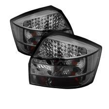 Audi 02-05 A4 S4 Quattro B6 4Dr Sedan Smoke LED Rear Tail Lights Brake Lamp Set