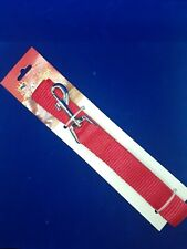 """PETKING 1"""" x 48"""" Dog Leash """" Red """" ~ NEW"""