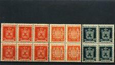 COAT OF ARMS,- SAN MARINO,-  {14 stamps}   1945    MNH
