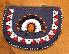Vintage Native American beaded Change purse
