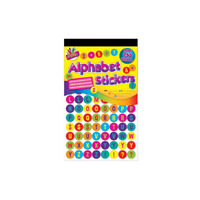 Alphabet Number Symbol Stickers - 750 Colourful Stickers - Learning Sticker