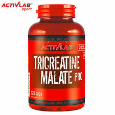 TriCreatine Malate PRO 120 Caps Muscle Gain Strong Anabolic Pills Ripped Growth