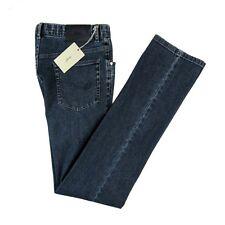 New BRIONI Livigno Blue Classic Five Pocket Slim Fit Jeans 33 Fits 32 NWT $595!