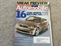 2002 Subaru Impreza WRX STi, Mitsubishi Lancer Evolution VII Automobile Magazine