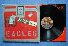 EAGLES / (Double) LP ASYLUM AS 62 032 (1er Pressage) / 1980 (D*)