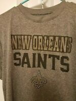 New Orleans Saints NFL Apparel Youth Kids T-Shirt SS Tee Size XL 14-16