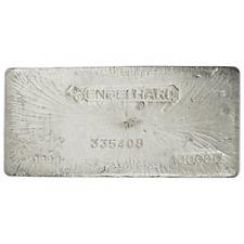 100 Troy oz Engelhard Silver Bar .999 Fine Bull Logo