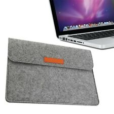 High Quality Wool Felt Laptop Sleeve Bag Case For MacBook Pro 13.3 inch XA