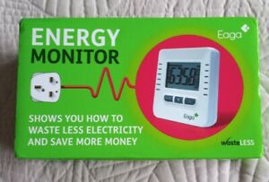 EAGA Energy Monitor New In Box Never Used  Batteries Included