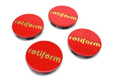 Genuine Rotiform Red Caps with Gold Letters (LIMITED EDITION CENTER CAP)