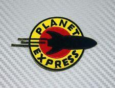 Embroidered Patch Iron Sew Logo PLANET EXPRESS futurama cartoon nasa space ufo