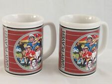 Gary Player Golf 2 Large Mugs Set 16 oz 1992 Sports Impressions Coffee Tea Euc