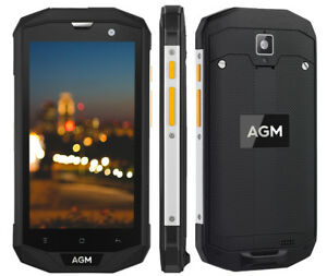 "AGM A8 SE IP68 2gb 16gb Waterproof 8.0mp Camera Light Sensor 5.0"" Android 4g Otg"