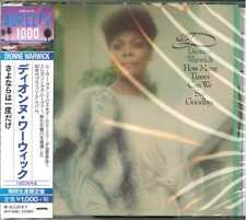 DIONNE WARWICK-HOW MANY TIMES CAN WE SAY GOODBYE-JAPAN CD BONUS TRACK Ltd/Ed B63