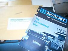 NOS 1967 SHELBY PARTS AND ACCESSORIES CATALOG IN ORIGINAL MAILING ENVELOPE RARE!