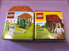 Lego 5005249 Iconic Easter Bunny & 5004468 Iconic Easter Chicken Minifig