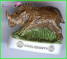"Feve Les Dinosaure Edition  Atlas "" Le Coelodonta "" Rhinoceros  #D24"