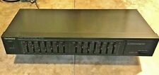 Technics® ~ Sh-8017 Stereo Graphic Equalizer • 7 Bands Per Channel