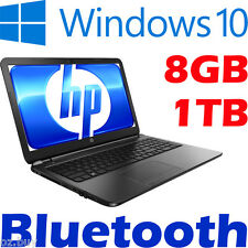 "NEW HP G5 Windows 10 Laptop Intel Core N3060 DVD 15.6"" 8GB 1000GB BLUETOOTH USB3"