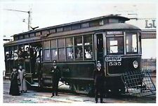 West Seattle and Luna Park Trolley Washington State, Streetcar - Modern Postcard