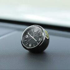 Quartz Clock For Car Truck Interior Dashboard Air Vent Accessories Round Metal
