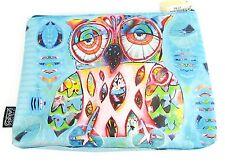 Owl Cosmetic Bag - Allen Designs - Quirky-Design  Cello Wrap (23cmx16cm)