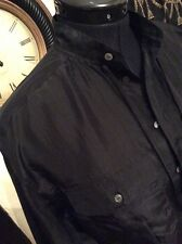 RALPH LAUREN POLO WOMENS ELLI PURE SILK BLOUSE.  BLACK. SIZE: SMALL.  RRP:£160