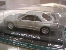 1/43 METAL NISSAN SKYLINE GT-R gris metal!!!!!!