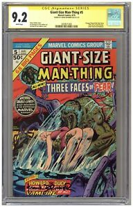 Giant-Size Man-Thing #5 (CGC Signature Series 9.2) Frank Brunner; 1975 A439