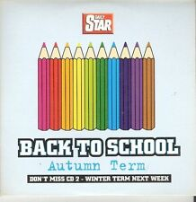 BACK TO SCHOOL - AUTUMN TERM - VARIOUS ARTISTS - STAR PROMO MUSIC CD