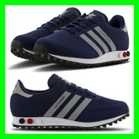 NEW Adidas LA Trainer Navy Blue/White Mens Trainers Size 6.5-10.5 Limited Stock