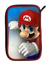 Super Mario Nintendo 3DS XL DSi Game Traveler RED Case w Screen Protector NEW 🍄