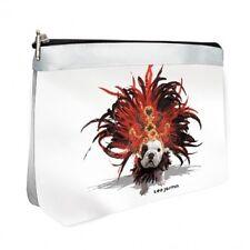 Teo Jasmin French Designer British English Bulldog Make Up Cosmetic Bag Case