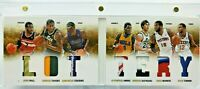 2012-13 Panini Preferred Lottery Booklet #/25 Rookies WALL / COUSINS / HAYWORD
