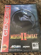 Mortal Kombat 2 Sega Genesis Cib No Manual Works SB3