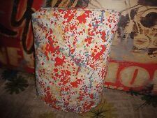 GARNET HILL COLORFUL PAINT SPLATTER RED BLUE YELLOW QUEEN FLAT SHEET 86 X 90