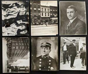 Vintage 1912 Becker-Rosenthal Murder Trial Gangster Corruption Photo Lot (12 pc)