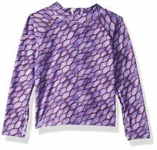 Mott50 Kids Margherita Swim UPF 50+ Rash Guard Purple Second Skin Size 6/7